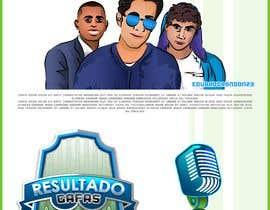 #53 para Diseño Logo programa futbol Resultado Gafas de EduardoRondon23