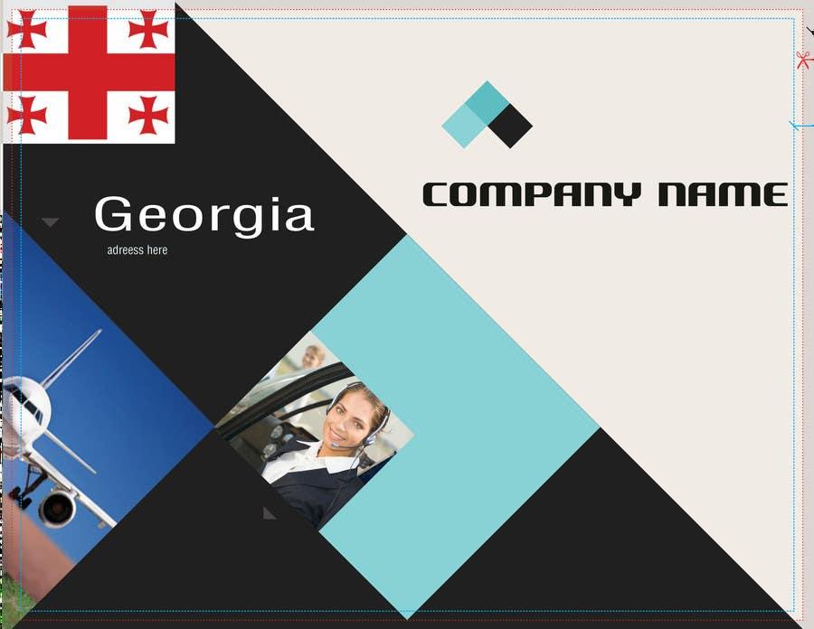 Contest Entry #                                        2                                      for                                         Brochure Design for Georgian cargo ltd