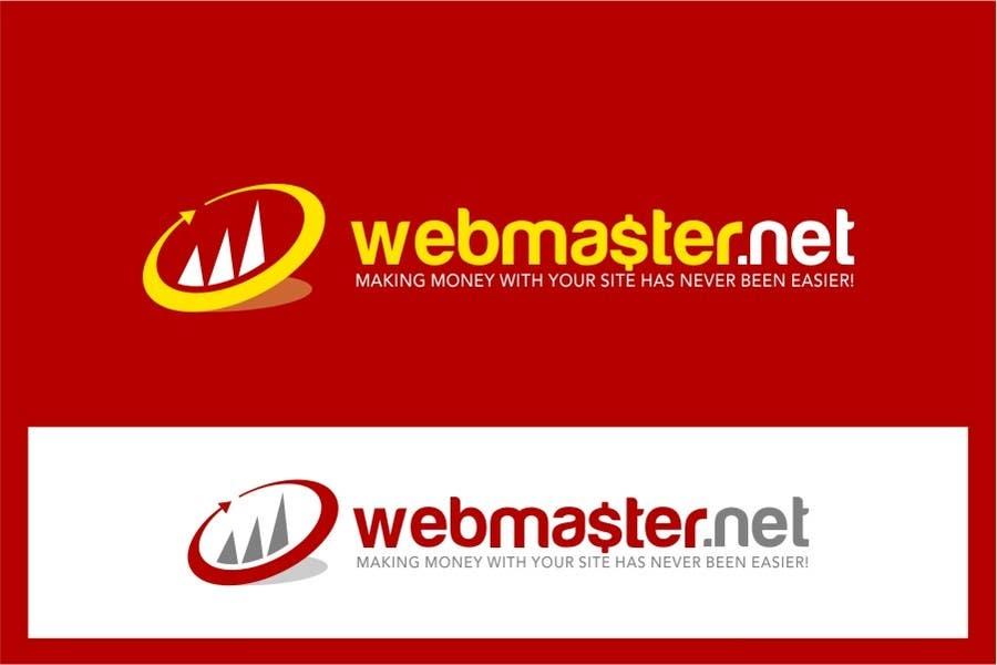 Konkurrenceindlæg #                                        8                                      for                                         Logo Design for Webmaster.Net / AI Vectors!