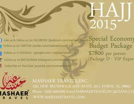 #38 for Hajj 2015 Flyer by sakinaazad