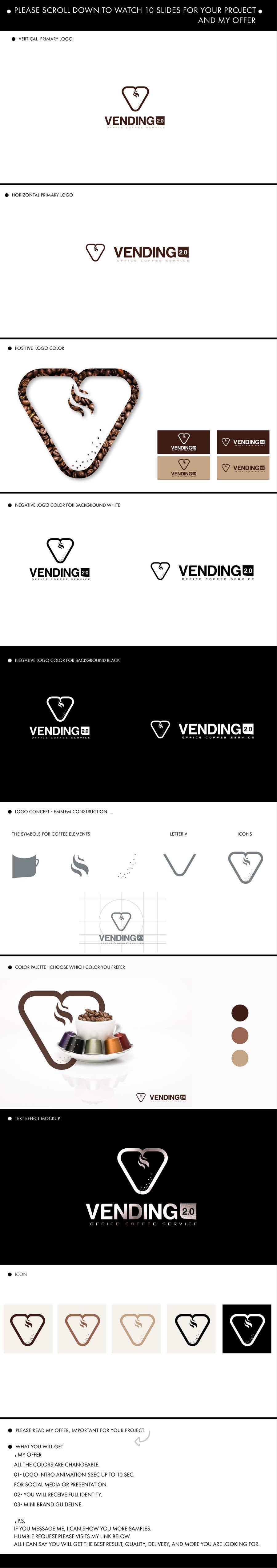 """Inscrição nº                                         71                                      do Concurso para                                         Logo para esta marca/nome """"VENDING 2.0"""""""