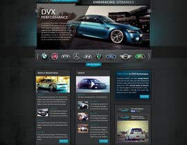 #80 for Design a Website Mockup for a (chip)Tuning company by Artnetta