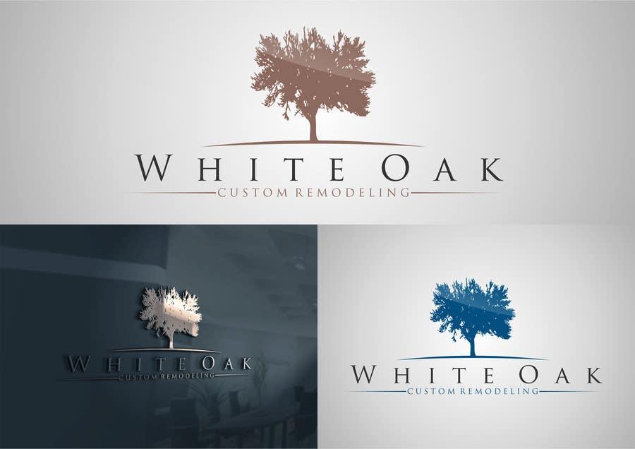 Kilpailutyö #31 kilpailussa Design a Logo for White Oak Custom Remodeling