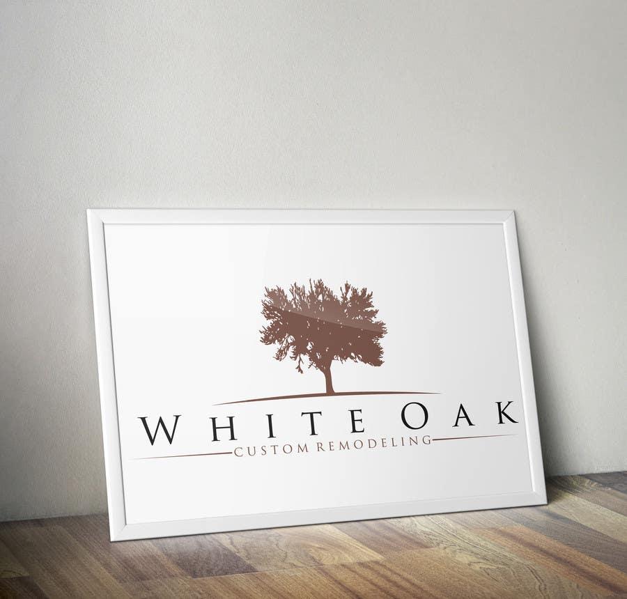 Kilpailutyö #33 kilpailussa Design a Logo for White Oak Custom Remodeling