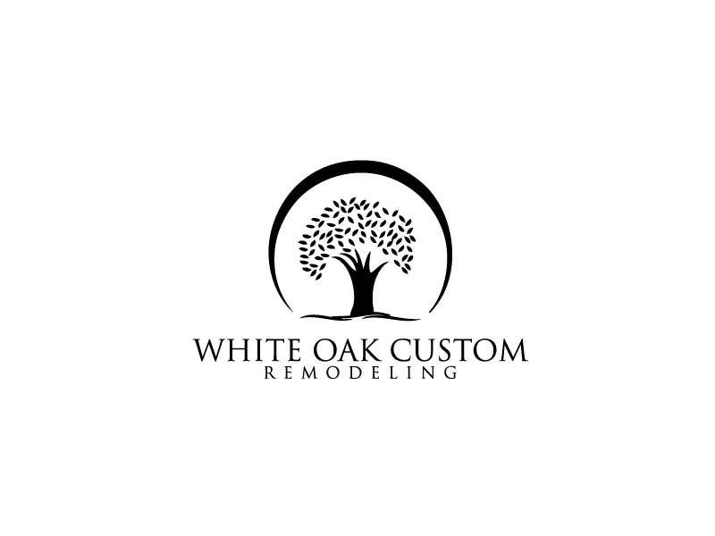 Konkurrenceindlæg #46 for Design a Logo for White Oak Custom Remodeling