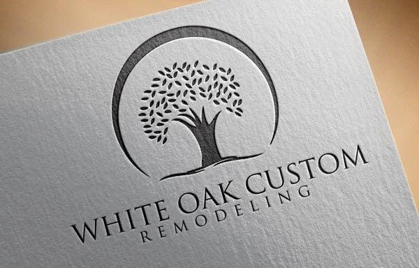 Kilpailutyö #47 kilpailussa Design a Logo for White Oak Custom Remodeling