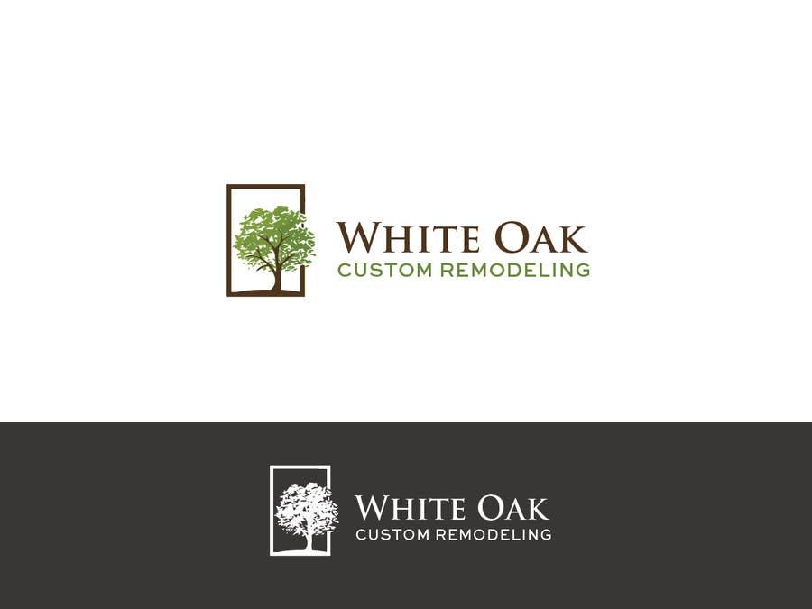 Kilpailutyö #24 kilpailussa Design a Logo for White Oak Custom Remodeling