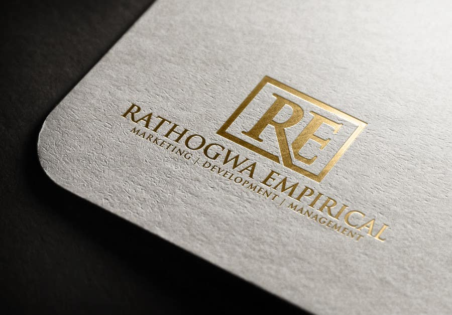 Konkurrenceindlæg #                                        2                                      for                                         Logo Design for Rathogwa Empirical, a strategy and business consultancy firm