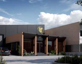 Nro 27 kilpailuun Warehouse Architectural Render Facade käyttäjältä farouqirfan
