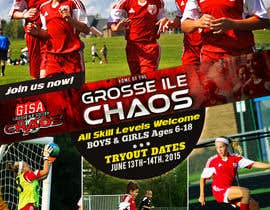 nº 10 pour Alter a Image for youth soccer flyer par ksmahin
