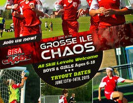 #11 para Alter a Image for youth soccer flyer por ksmahin