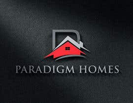 #62 for Design a Logo for PARADIGM HOMES af BlackWhite13