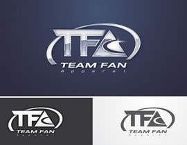 #93 для Logo Design for TeamFanApparel.com от taks0not
