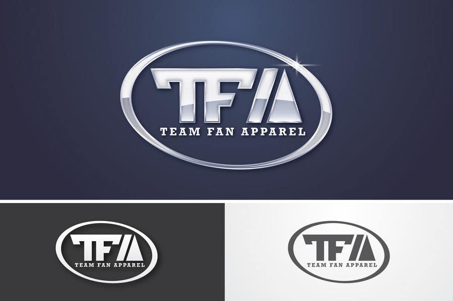 Inscrição nº                                         92                                      do Concurso para                                         Logo Design for TeamFanApparel.com