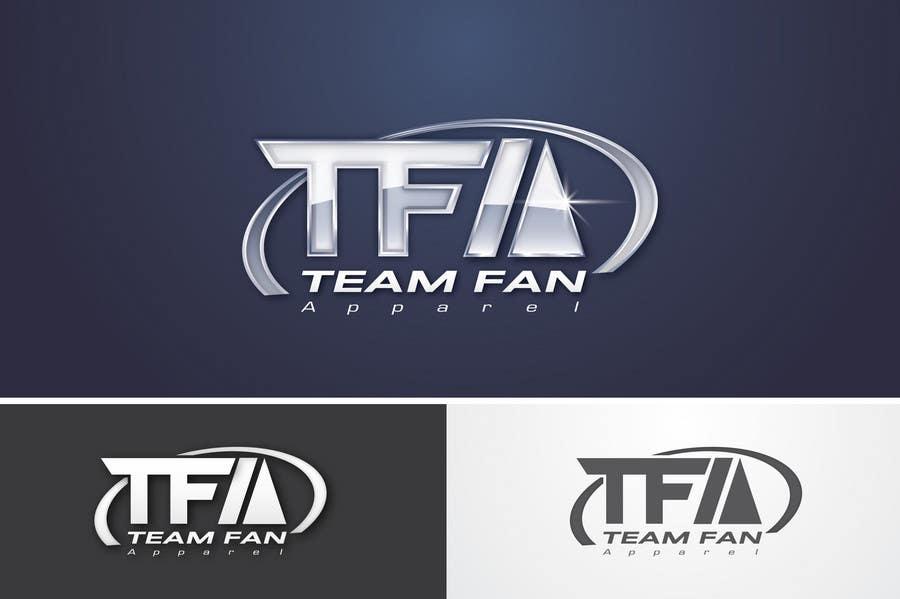 Inscrição nº                                         96                                      do Concurso para                                         Logo Design for TeamFanApparel.com