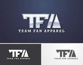 #74 for Logo Design for TeamFanApparel.com af taks0not