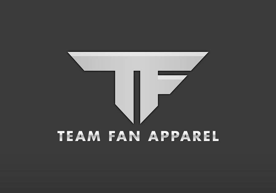 Kilpailutyö #                                        54                                      kilpailussa                                         Logo Design for TeamFanApparel.com