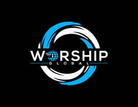 #152 for logo for worship.global af sharminnaharm