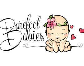 #19 untuk Colour or Re-design Logo for Barefoot Babies Boutique oleh Libros