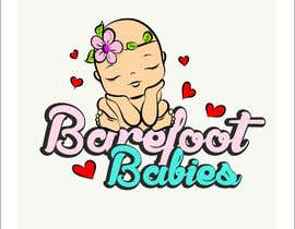 #14 untuk Colour or Re-design Logo for Barefoot Babies Boutique oleh MaxMi