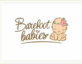MaxMi tarafından Colour or Re-design Logo for Barefoot Babies Boutique için no 28