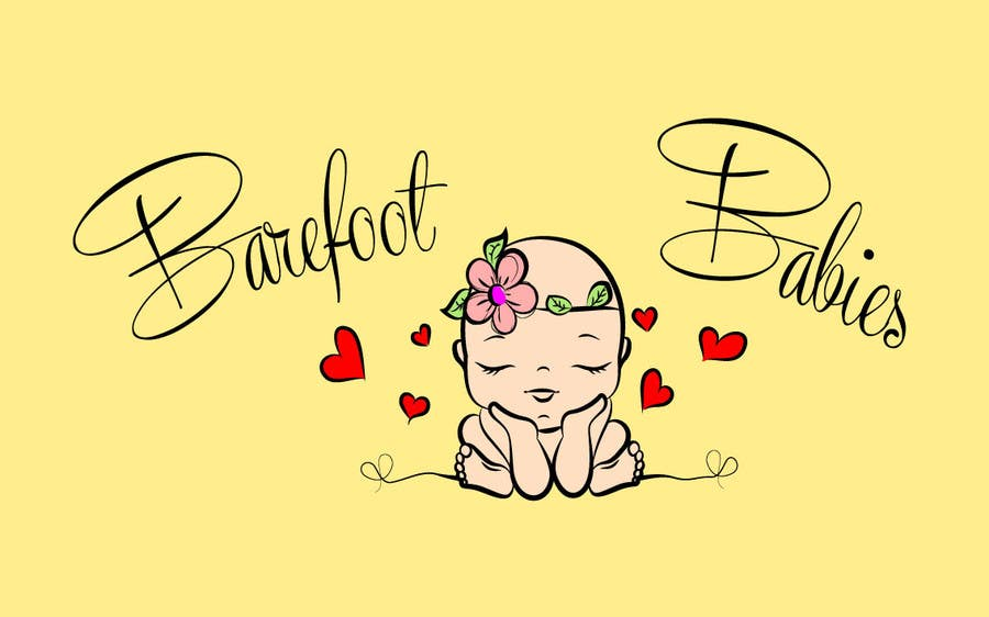 Contest Entry #                                        9                                      for                                         Colour or Re-design Logo for Barefoot Babies Boutique