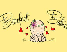 #9 untuk Colour or Re-design Logo for Barefoot Babies Boutique oleh ORAYOZ