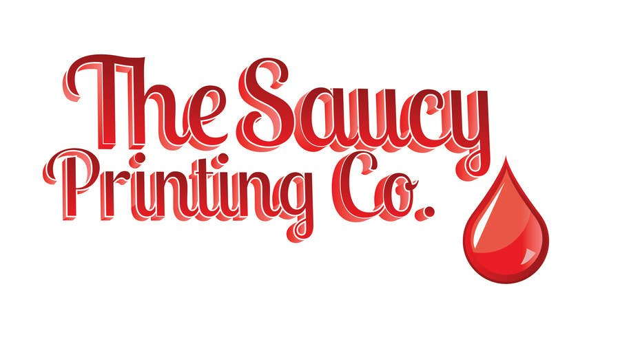 """Konkurrenceindlæg #                                        42                                      for                                         Design a Logo for """" The Saucy Printing Co. """""""