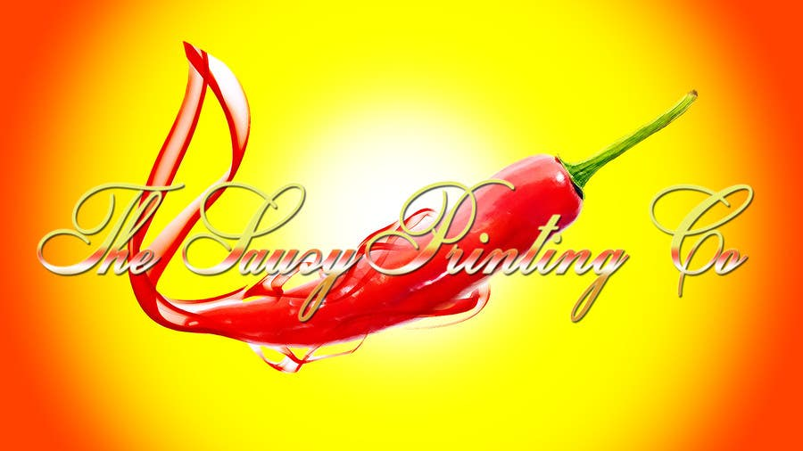 """Contest Entry #                                        58                                      for                                         Design a Logo for """" The Saucy Printing Co. """""""
