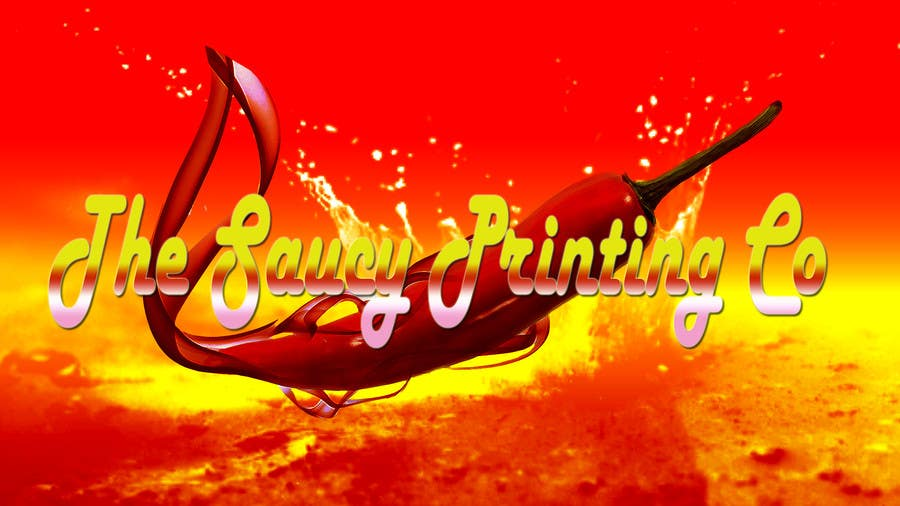 """Konkurrenceindlæg #                                        63                                      for                                         Design a Logo for """" The Saucy Printing Co. """""""