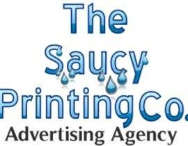 "#64 untuk Design a Logo for "" The Saucy Printing Co. "" oleh shadowsdomains"