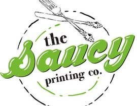 "nº 66 pour Design a Logo for "" The Saucy Printing Co. "" par jumbogames"
