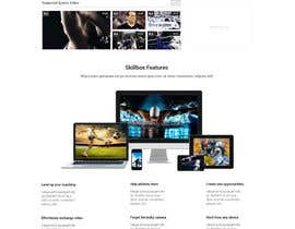 #13 for Design a Website for Sports Skills Video Uploading Site by pradeep9266