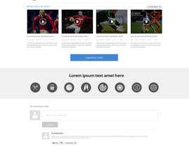 #22 for Design a Website for Sports Skills Video Uploading Site by pradeep9266