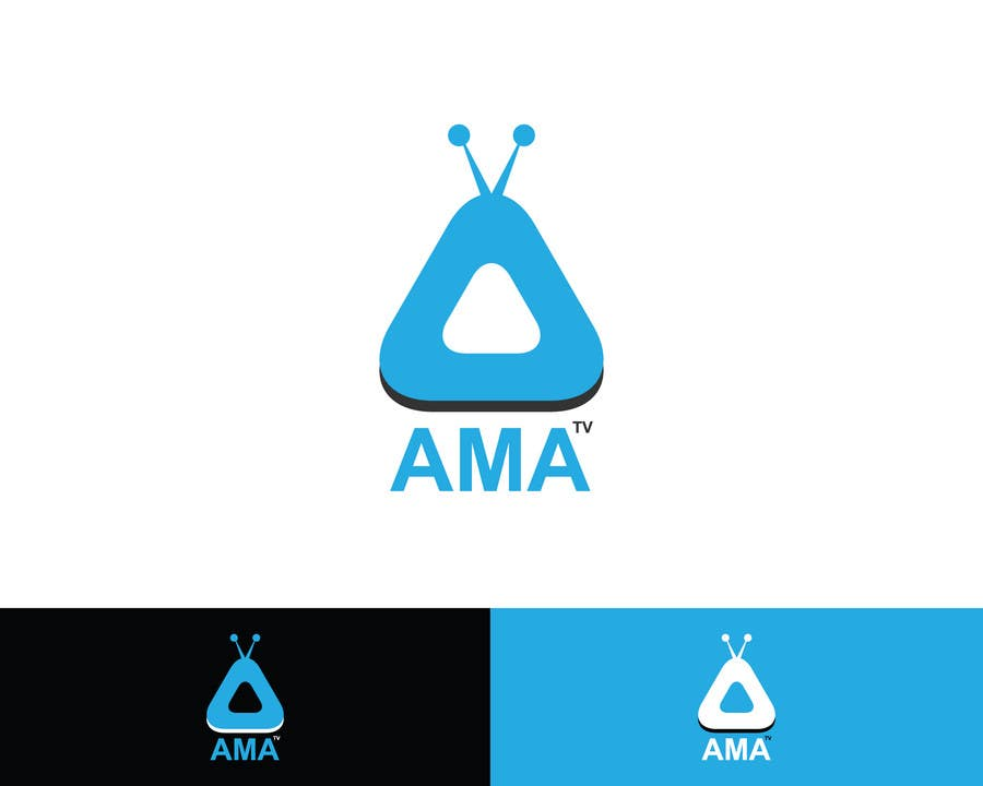 """Konkurrenceindlæg #4 for Design a Logo for """"AskMeAnything"""" or """"AMA"""" It a video streaming service"""