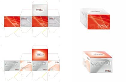 #23 untuk Create box design for Sport / Medical product + Logo design oleh Nihadricci