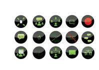 Graphic Design Konkurrenceindlæg #20 for Design some Icons for website