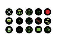 Graphic Design Konkurrenceindlæg #21 for Design some Icons for website