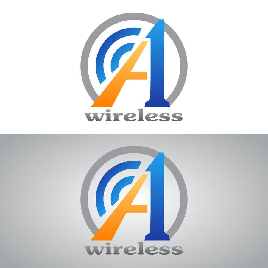 Inscrição nº                                         124                                      do Concurso para                                         Logo Design for A-1 Wireless