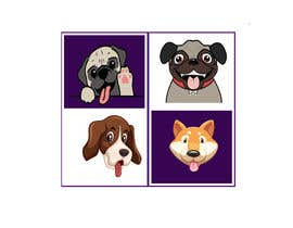 #8 para sticker design of funny or cute cat or dog multiple winners posisble. por dgriyad