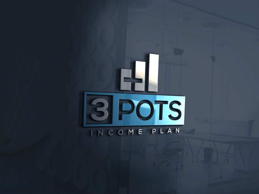 "Contest Entry #                                        198                                      for                                         Logo Design ""3 Pots Income Plan"""