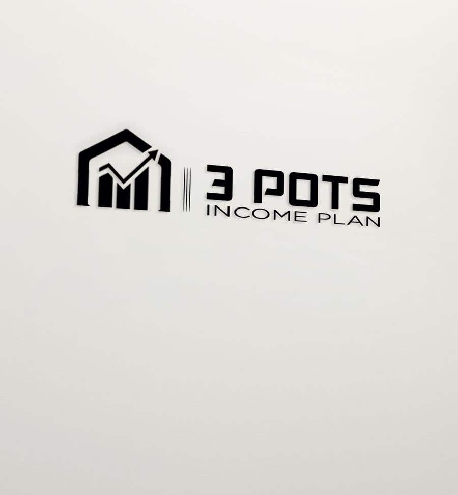 "Contest Entry #                                        207                                      for                                         Logo Design ""3 Pots Income Plan"""