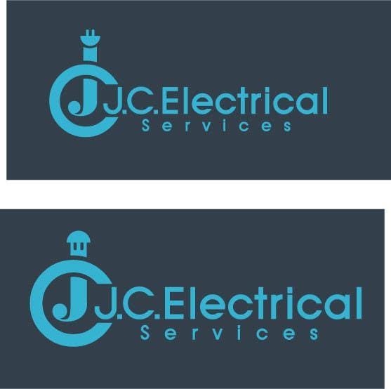 Penyertaan Peraduan #23 untuk Design a Logo for J.C. Electrical Services