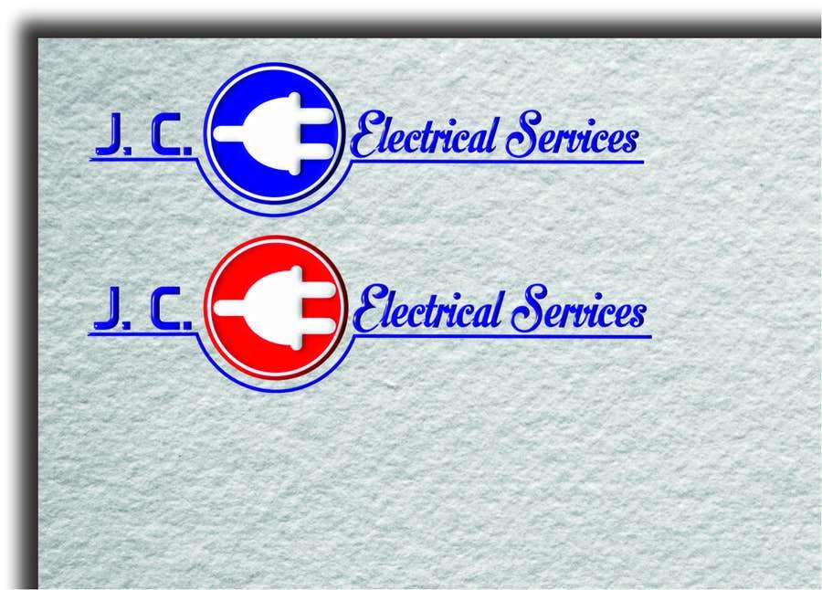Penyertaan Peraduan #7 untuk Design a Logo for J.C. Electrical Services