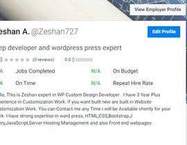 #4 for Front- End Senior Software Developer Entertainment by Zeshan727