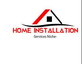 #474 pentru Home Installation Contractors Logo de către darkavdark