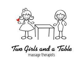 #3 untuk Design a Logo for Two Girls and a Table oleh porderanto