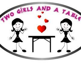 rajibdu02 tarafından Design a Logo for Two Girls and a Table için no 22