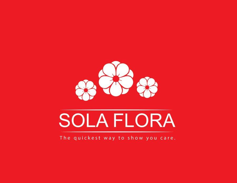 Konkurrenceindlæg #                                        14                                      for                                         Design a Logo for flower shop called sola flora