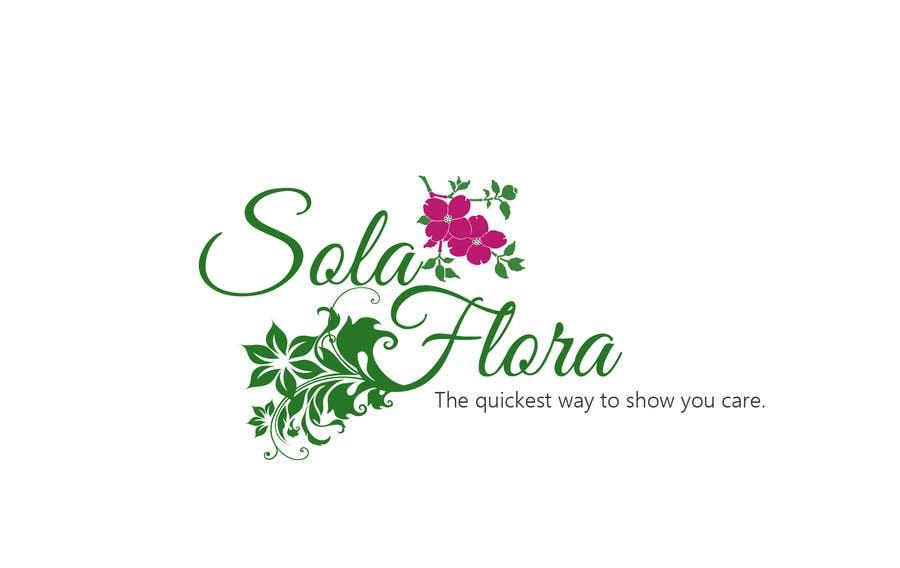 Konkurrenceindlæg #                                        89                                      for                                         Design a Logo for flower shop called sola flora
